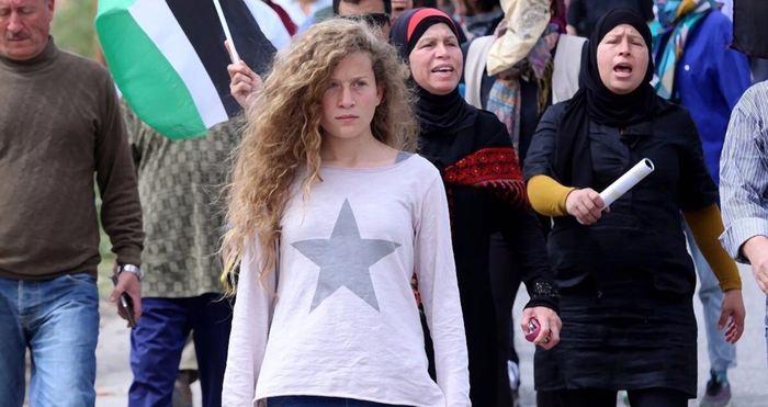 Plus de 700 jeunes juifs des Etats-Unis ont écrit des lettres de solidarité à Ahed Tamimi, la palestinienne iconique de 70 ans qui a été arrêté par les autorités israéeliennes en décembre 2017 et qui a été inculpé avec 12 chefs d'accusation incluant l'attaque sur un soldat israélien et jet de pierre. La vidéo où elle gifle un soldat israélien est devenu virale.