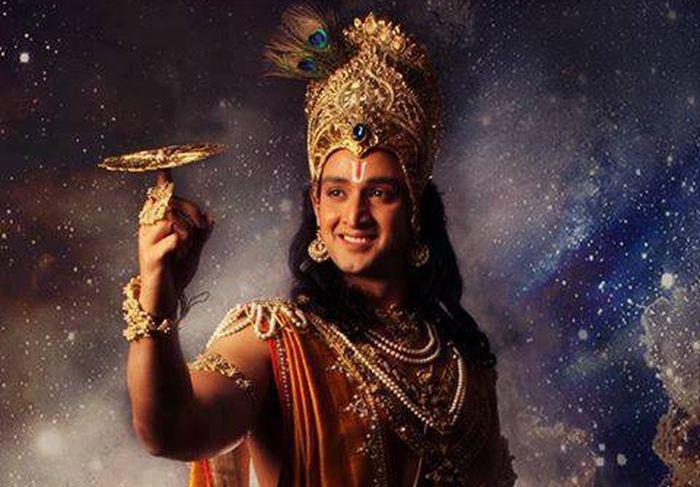 Le Seigneur Krishna et son célèbre Fidget Spinner